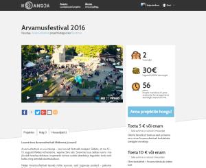 Arvamusfestival 2016 ootab hooandjaid