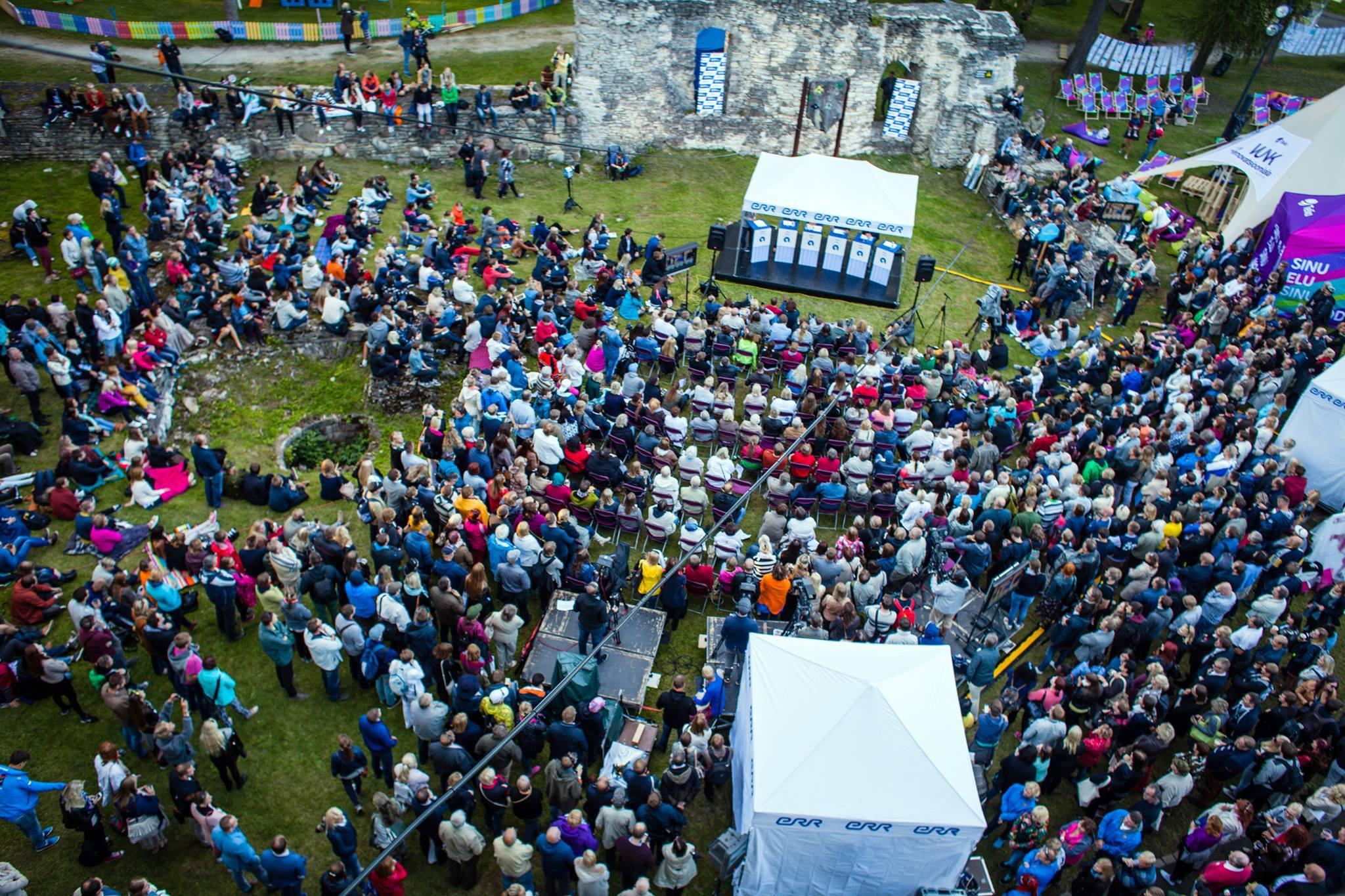 Arvamusfestivali avapäeva külastas üle 6000 inimese