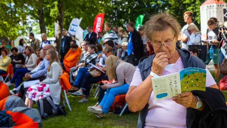 За два дня Фестиваль мнений в Пайде посетили более 9000 человек
